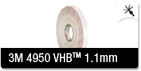 3M 4950 Foam Double Sided Tape