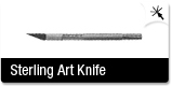 Sterling Light Weight Precision Art Knife