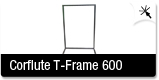 Corflute T Frame